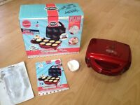 AMERICAN CUPCAKE MAKER WITH BOX & ICING KIT, £1