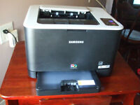 Samsung 325 W Laser Color Printer - tested Only - Perfect
