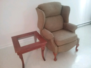 Table salon,Sofa ,Fauteuil inclinable  GRANBY