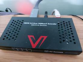 AV ACCESS HDBASE-T HDMI extender