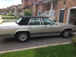 1991 mercury grand marquis out of storage