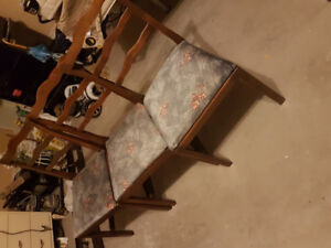 Solid wood chairs antique