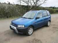 1999 Mazda Demio 1.3 Petrol Manual 5 Door Manual Blue Japanese Export