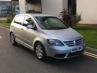 VOLKSWAGEN GOLF PLUS 1.9 TDI SPORT MANUAL 76K FSH