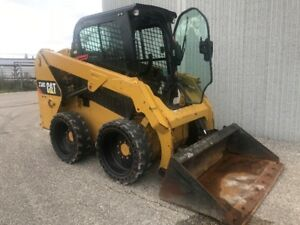 2015 CATERPILLAR 236D SKID STEER LOADER-CAB WITH HEAT AND A/C