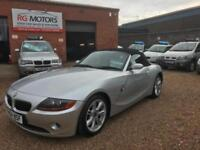 2004 BMW Z4 2.2i SE Roadster, SiLver, Sports Convertible, **ANY PX WELCOME**