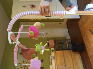 Lolli Musical Crib Mobile - Like New Condition