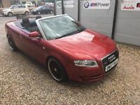 AUDI A4 CABRIOLET 3.0TDI 2007 QUATTRO S LINE 1 OWNER FROM NEW!! 12 MONTHS MOT