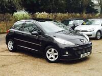2011 Peugeot 207 1.4 Envy 3 Door Black only 54,623 Miles SUPERB THROUGHOUT!!!!!!
