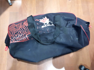 Used once-hockey bag