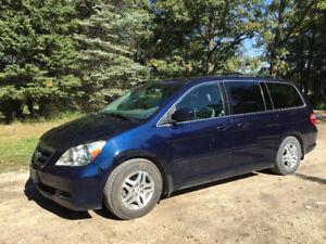 2007 Honda Odyssey EXL Minivan, Van