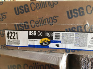 Ceiling tiles new in boxes. 2x2 feet