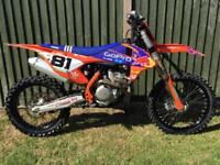 2016 KTM 350cc SX-F Moto Cross Bike