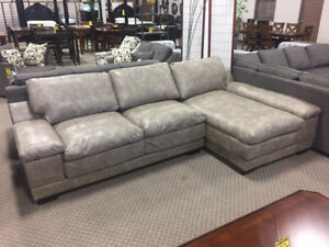 Reversible Grey Sectional On Yvonne S Furniture