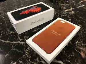 iPhone 6s - 64GB - Space Grey w/ Apple Leather Case Kitchener / Waterloo Kitchener Area image 5