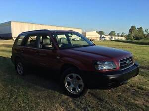 2004 Subaru Forester Wagon Yeerongpilly Brisbane South West Preview