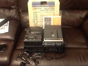 RARE VINTAGE CROWN STEREO/AUDIO COMPONENTS CD TAPE RECORDER