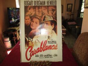 Vintage Framed Movie Poster of Humphrey Bogart--Casablanca