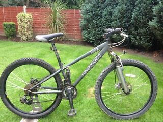 Adults saracen buzz double disc mountain bike