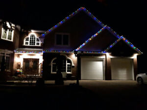 We Install ( Outdoor XMAS LIGHTS ) 902-222-4082 We are Local