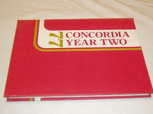 CONCORDIA UNIV. MONTREAL YEAR 2 YEARBOOK 1977 West Island Greater Montréal image 1