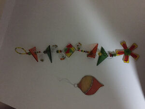Stained glass suncatcher and ornament