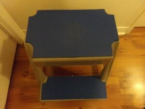 TWO STEP STEPSTOOL WITH AMPLE NON- SLIP TREADS