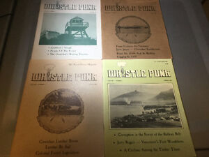 Whistle Punk Vancouver Island B.C. Forestry Logging Magazines