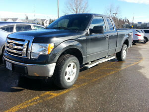 42000 km !!!   2012 Black Ford F-150 XLT Super Cab Pickup Truck