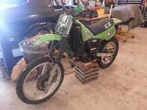 125 kx Kawasaki 1984