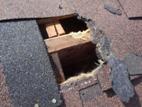 AFFORDABLE ROOFING REPAIRS  CALL 416 834-6426