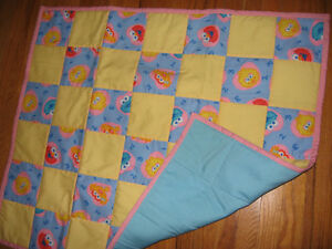 Sesame Street Quilt