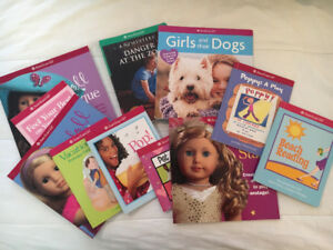 11 American Girl Books look new