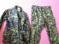 suit armé  CANADIENNE camoufelage  ( paintball )  gear  Frontena