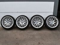 """19"""" CSL Style Alloys with deep concave rear will fit E46 M3 ETC"""