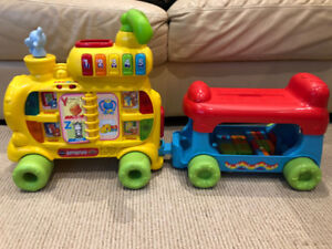 Vtech sit to stand Alphabet Train - English