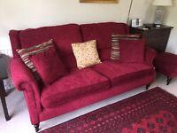 Three seater Parker knoll Oakham sofa