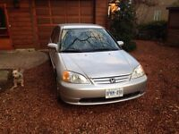 2002 Civic Certified and Etested