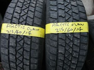 4 WINTER TIRE 215/60/R17 ARTICI 85% TREAD Kitchener / Waterloo Kitchener Area image 3