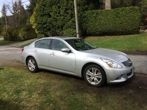 2012 Infiniti (Nissan) G37x Luxury Sedan - Great Estate Sale!