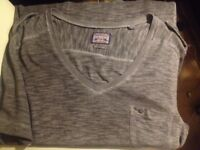 Diesel men's grey tshirt