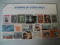 Stamps of Costa Rica Collection
