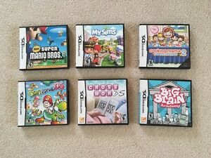 Selling DS games