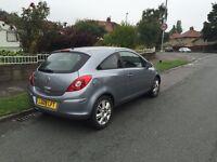 2009 09 Vauxhall Corsa 1.4 Petrol Design (high spec) 44,000miles FSH