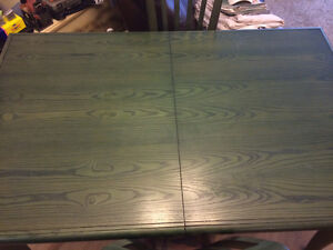 Dining table 4 chairs and matching storage unit West Island Greater Montréal image 4