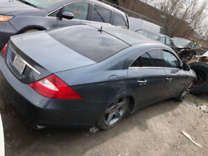 2006 CLS Mercedes front end damage but runs and drives