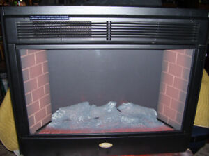 Electric Fireplace insert by Coleman