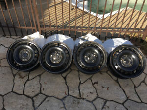 Jantes Volkswagen 15po rims steel wheels Golf Rabbit Jetta