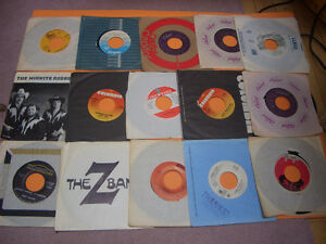 VINTAGE 45S RECORDS 70S AND 80S MEAT LOAF, ASIA, AC/DC ETC London Ontario image 1