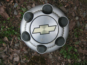assorted Ford, Chev & GMC truck centers & hubcaps, no full sets